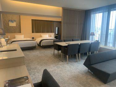 【2020年度ホテル滞在記】ホテルロイヤルクラシック大阪のスイートルームに宿泊してみたらすごかった!!!